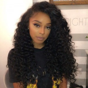 360 Lace Frontal Wigs 180% Density Full Lace Human Hair Wigs Kinky Curly Lace Front Human Hair Wigs