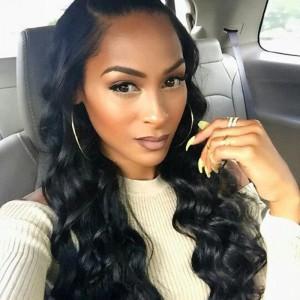 360 Lace Wigs Loose Wave Brazilian Full Lace Wigs 180% Density for Black Women Human Hair Wigs