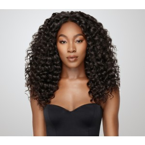 360 Lace Wigs 180% Density Deep Wave Full Lace Human Hair Wigs Bleached Knots - UUHair