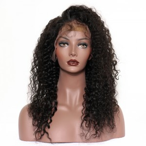 360 Lace Wigs 180% Density Full Lace Wigs 7A Brazilian Hair Brazilian Curl Wave Human Hair Wigs