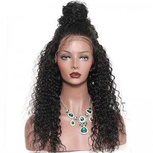 Lace Front Human Hair Wigs Brazilian Lace Wigs Brazilian Curl Lace Front Human Hair Wigs Natural Color
