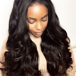 360 Lace Wigs Brazilian Best Lace Front Wigs with Baby Hair Body Wave 180% Density