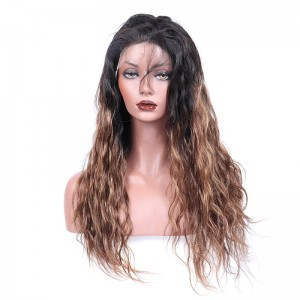 Mother's Day Sale Full Lace Wigs Natural Wave 100% Human Hair 1B/30 color