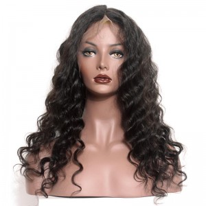 Lace Front Ponytail Wigs Loose Wave with Baby Hair Pre-Plucked Natural Hair Line 150% Density wigs