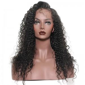 360 Lace Wigs 180% Density 7A Grade Brazilian Hair Brazilian Curl Human Hair Wigs - UUHair