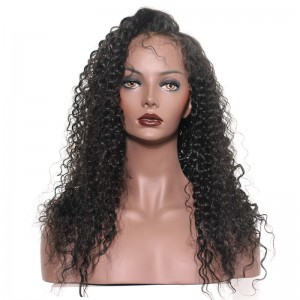 Brazilian Hair Lace Front Human Hair Wigs Brazilian Curl Human Hair Wigs Natural Color