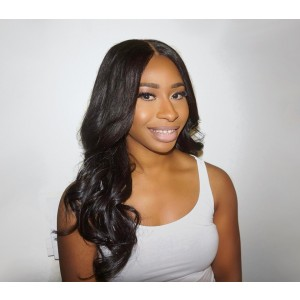 360 Lace Wigs Brazilian Full Lace Human Hair Wigs Body Wave Natural Hair Line 180% Density - UUHair