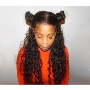 360 Lace Wigs Brazilian Full Lace Wigs Loose Wave 180% Density for Black Women Human Hair Wigs - UUHair