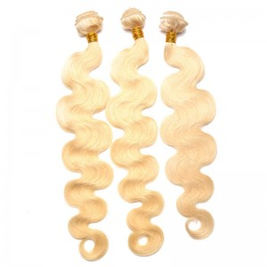 360 Lace Frontal Band Body Wave #613 Blond Color Brazilian Virgin Hair Lace Frontal Natural Hairline 22.5*4*2