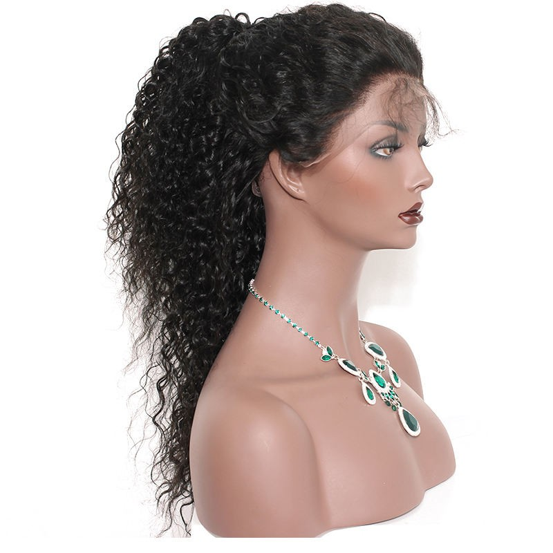 Lace Front Human Hair Wigs Brazilian Lace Wigs Deep Curly Lace Front