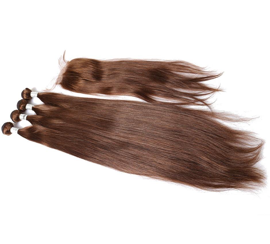 Brazilian Virgin Human Straight 30 Inches Hair 100 Human Virgin
