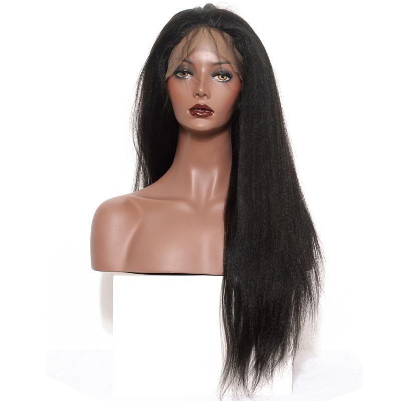 Full lace human hair wigs light yaki human hair wig brazilian full lace human hair wigs light yaki human hair wig brazilian virgin hair full lace wigs pmusecretfo Images