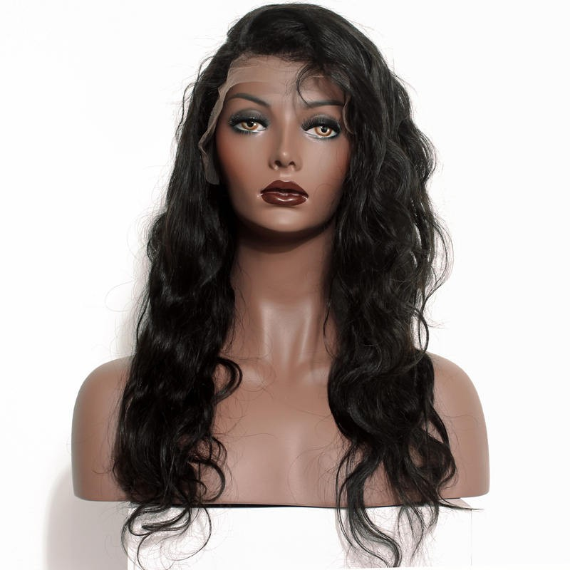 Luvin Brazilian Human Hair Lace Frontal Closure Body Wave 13*4 Bleached Knots Baby Hair Pre Pluched 100% Remy Hair Shipping Free Hair Extensions & Wigs Closures