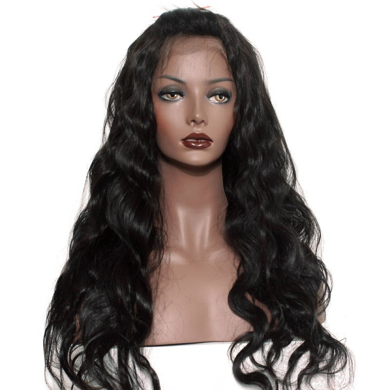 Peruvian Virgin Hair Lace Front Human Hair Wigs Body Wave