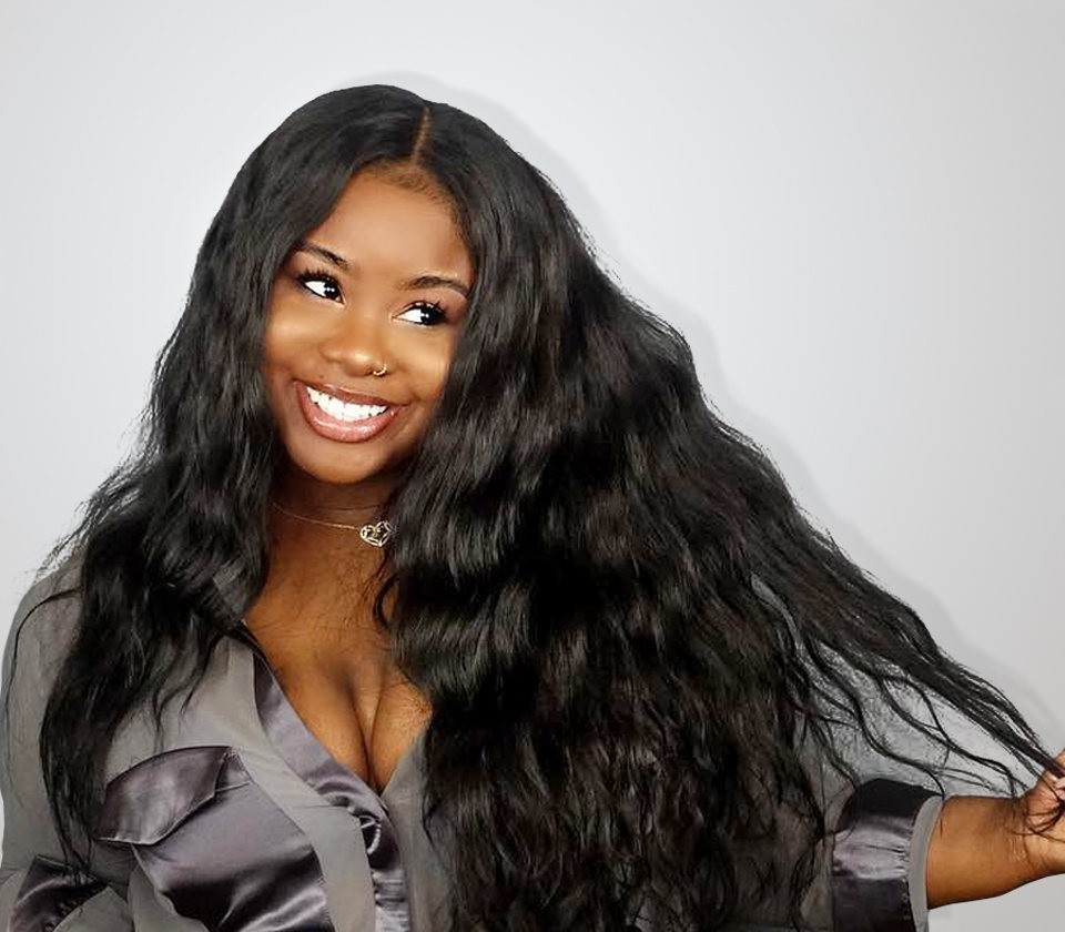 250 Density Full Lace Human Hair Wigs Brazilian Virgin