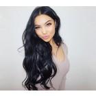 Brazilian Lace Wigs 200% Density Brazilian Virgin Human Hair Body Wave Lace Closure Wigs