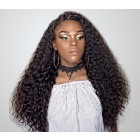 250% Density Lace Front Human Hair Wigs 7A Brazilian Hair Deep Curly Lace Front Human Hair Wigs