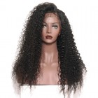 Lace Front Human Hair Wigs Brazilian Lace Wigs Deep Curly Lace Front Human Hair Wigs Natural Color