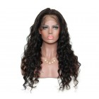 Pre-Plucked Loose Wave Brazilian Lace Front Wigs 250% Density with Baby Hair for Black Women