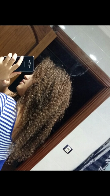 Natural Color Kinky Curly Full Lace Wigs Unprocessed Brazilian Virgin Human Hair