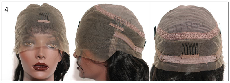 UUHair.com Glueless Full Lace Cap,cap4