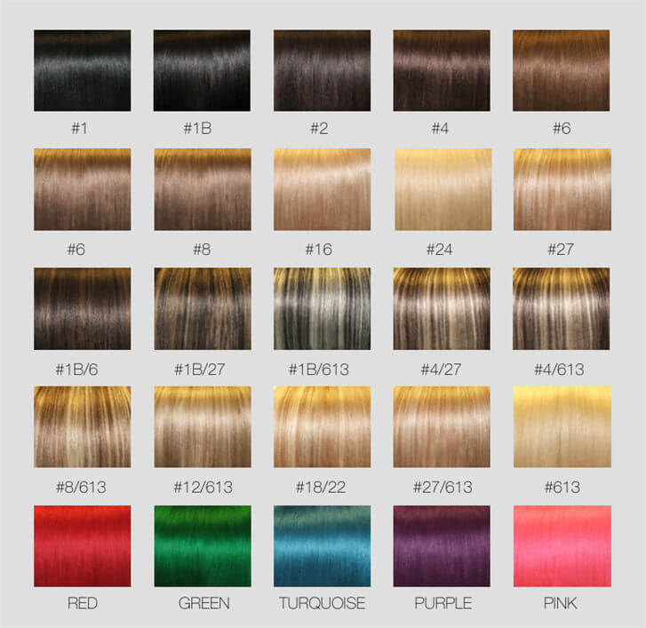 Color Chartonline Shopping For Human Hair Weavelace Wigslace